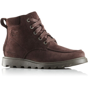 Sorel Madson Moc Toe Waterproof Shoes Kids cattail/mud